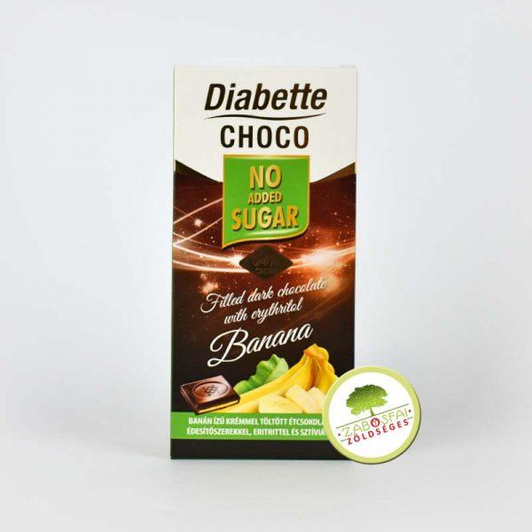 Diabette banánkrémes
