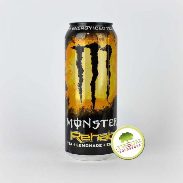 Monster Energiaital Rehab citrom