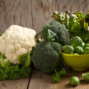 Káposztafélék, brokkoli karfiol